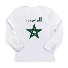 Morocco Script Long Sleeve Infant T-Shirt