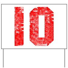 10th Birthday Yard Sign