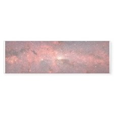 Milky Way Galaxy Center Bumper Bumper Sticker