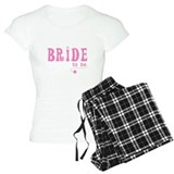 Bride to Be Pink pajamas