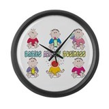 Nurse XXX Large Wall Clock