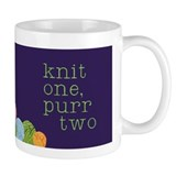 KNIT 1 PURR 2 Coffee, Tea, or Cocoa Mug