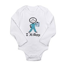BusyBodies X-Ray Tech Long Sleeve Infant Bodysuit