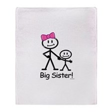 Big Sister Throw Blanket