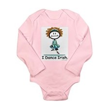 Funny Irish dancing Long Sleeve Infant Bodysuit