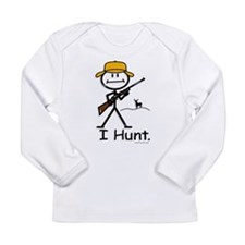 Cool Deer hunting Long Sleeve Infant T-Shirt