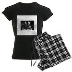 Cat Duet Women's Dark Pajamas