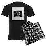 Cat Duet Men's Dark Pajamas