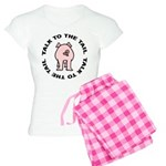 Talk To The Tail Pig Women's Light Pajamas