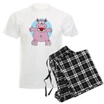 Hippo Hug Men's Light Pajamas