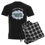 Flying Hippo Men's Dark Pajamas