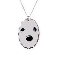 Westie Face Necklace