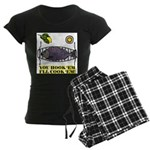 You Hook 'Em Fishing Women's Dark Pajamas