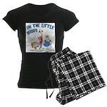 I'm The Little Buddy Women's Dark Pajamas