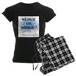 Wedgie Or Noogie Women's Dark Pajamas