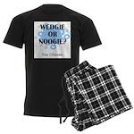 Wedgie Or Noogie Men's Dark Pajamas