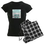 Marine Biologist Humor Women's Dark Pajamas