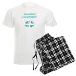 Marine Biologist Humor Men's Light Pajamas