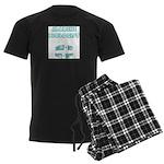 Marine Biologist Humor Men's Dark Pajamas