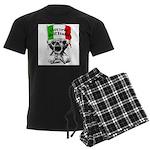 Vittorie dell'Italia Men's Dark Pajamas