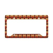 Owl Lover License Plate Holder Frame Gift