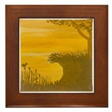 Riverbank Framed Tile