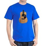Acoustic Guitar (worn look) T-Shirt