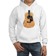 Acoustic Guitar (worn look) Hoodie