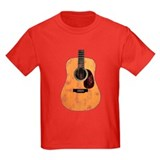 Acoustic Guitar (worn look) T
