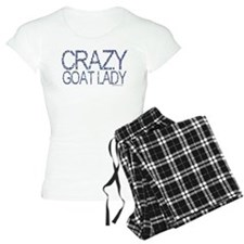 Crazy Goat Lady 2 Pajamas