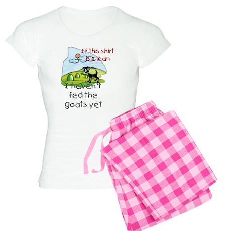 Haven't Fed Goats Yet Women's Light Pajamas