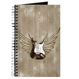 Wings Electric Guitar (worn) Journal