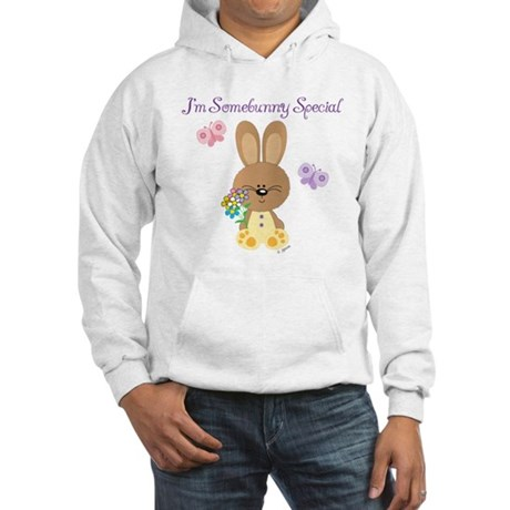 Special Easter Bunny Hooded Sweatshirt