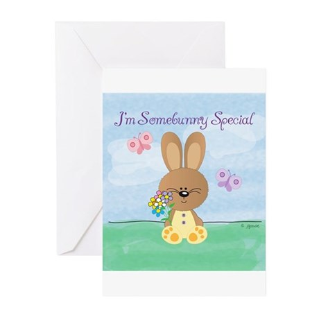 Special Easter Bunny Greeting Cards (Pk of 10)