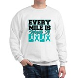 Ovarian Cancer Every Mile Sweatshirt