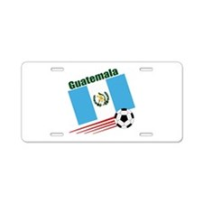 Guatemala Soccer Team Aluminum License Plate