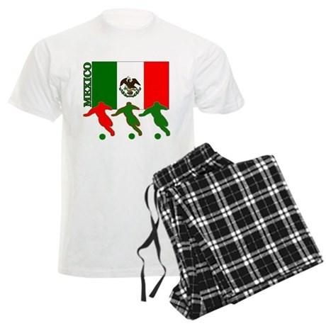Soccer Mexico Men's Light Pajamas