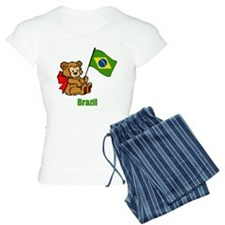 Brazil Teddy Bear Pajamas