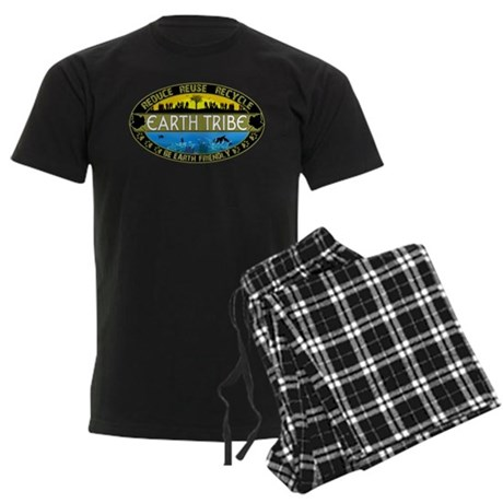 Earth Tribe Men's Dark Pajamas