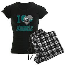I Love (Heart) Squirrels Pajamas