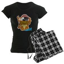 Cute Goofkins Monkey Pirate Pajamas