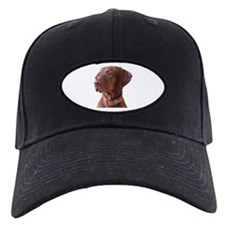 "Vizsla head shot of ""Tru"" Baseball Hat"