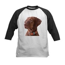 "Vizsla head shot of ""Tru"" Tee"