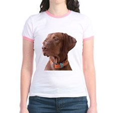 "Vizsla head shot of ""Tru"" T"