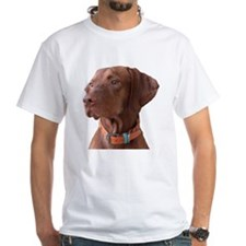 "Vizsla head shot of ""Tru"" Shirt"