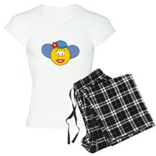 Girl Smiley Face With Hat Pajamas