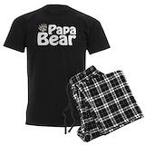 Papa bear Men's Pajamas Dark