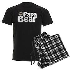 Papa Bear Claw pajamas