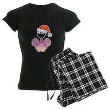 Cute Christmas Santa Flamingo Pajamas