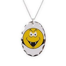 Dracula/Vampire Smiley Face Necklace
